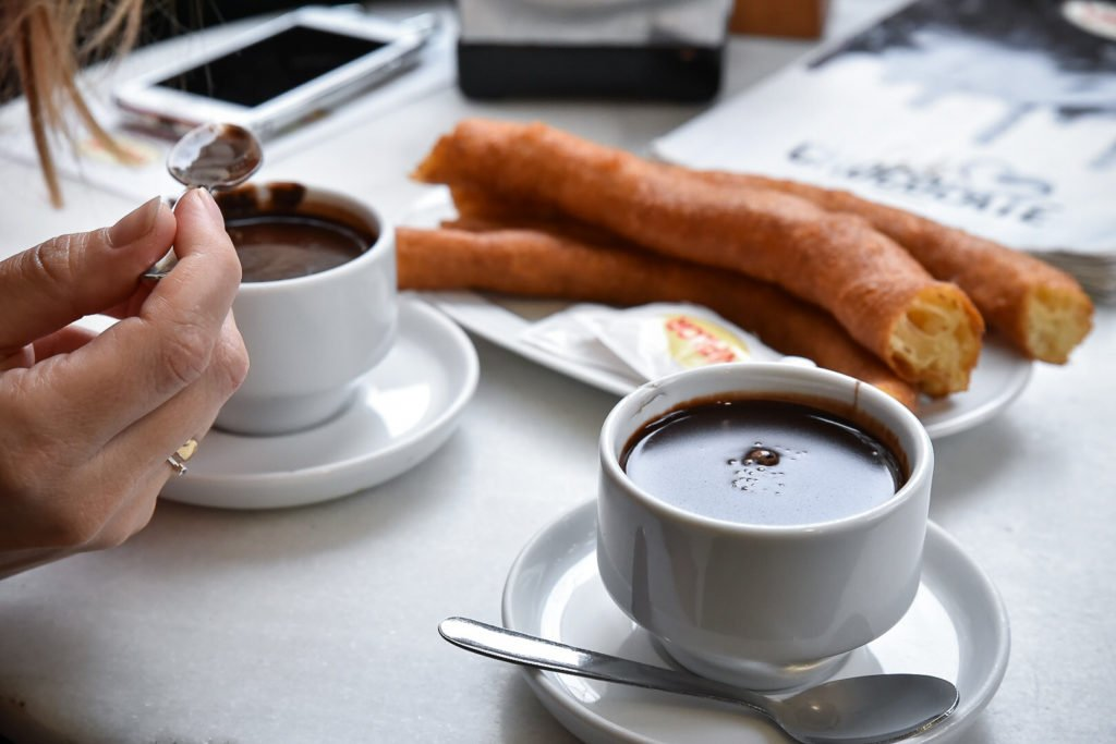 Chocolate con churros by Ben Holbrook from Driftwood Journals